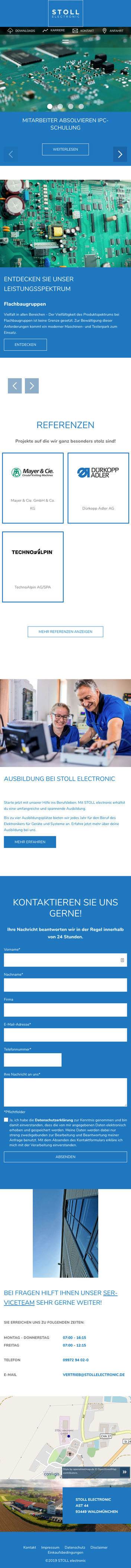 STOLL electronic Bild (Mobile)